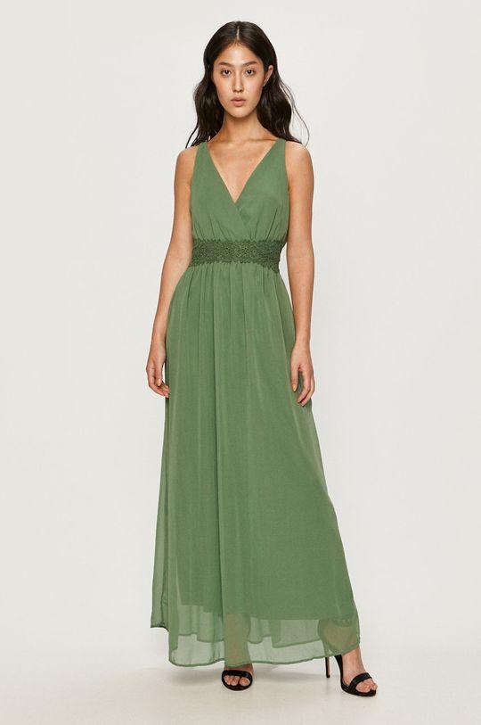 Vero Moda - Sukienka zielony