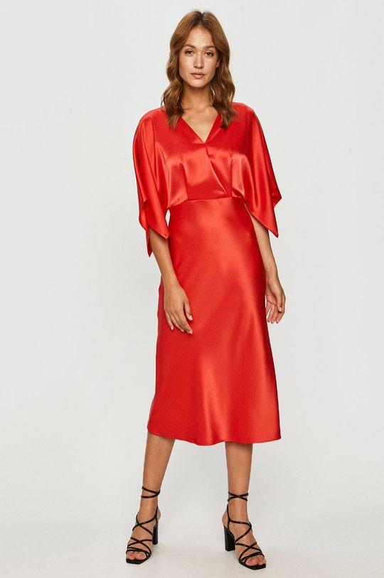 Hugo - Sukienka Podszewka: 47 % Poliester, 53 % cupro, Materiał zasadniczy: 20 % Poliester, 80 % Triacetat