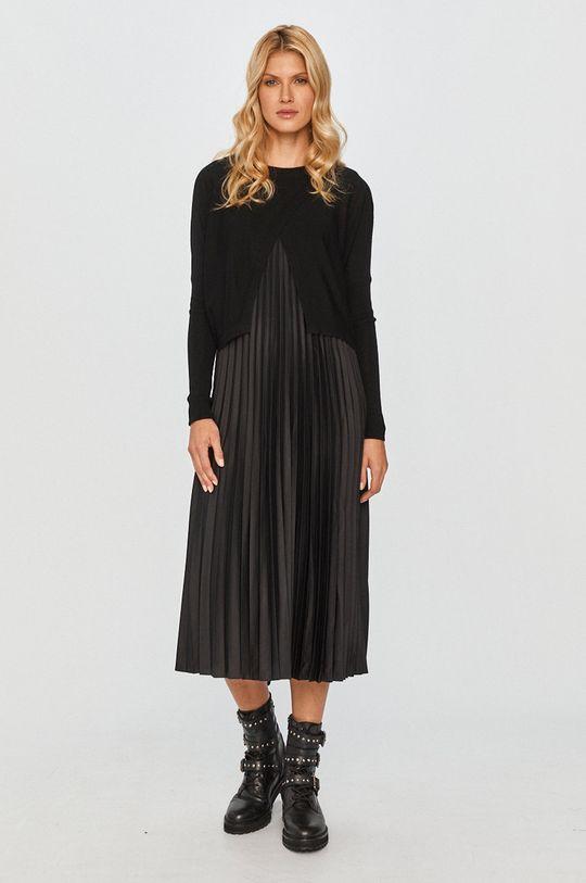 černá AllSaints - Šaty Dámský