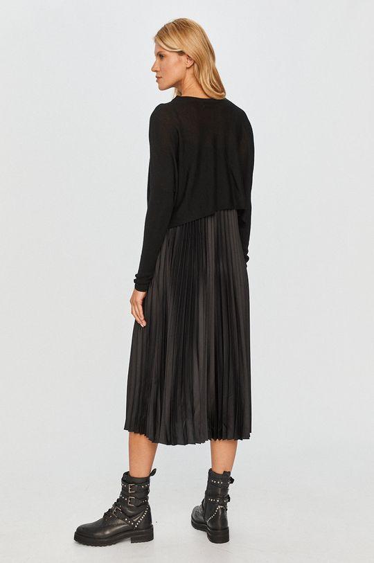 AllSaints - Šaty černá