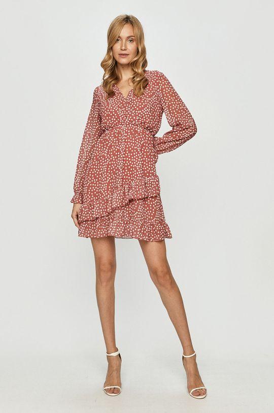 Haily's - Šaty ružovo-červená