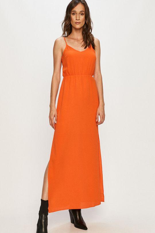 Jacqueline de Yong - Sukienka pomarańczowy