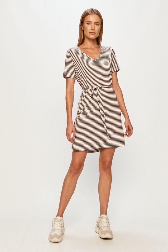 Vero Moda - Sukienka biały