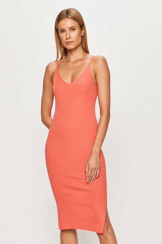 koralowy Vero Moda - Sukienka Damski