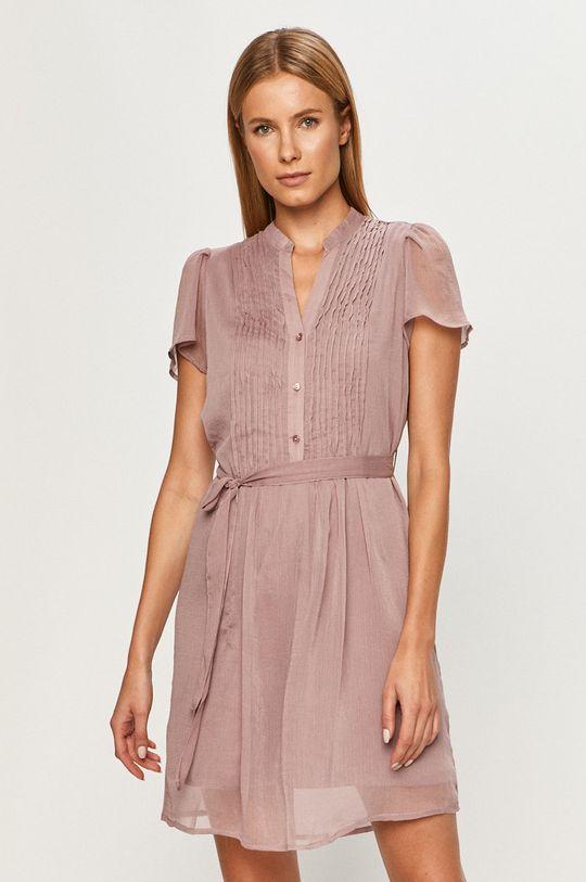ružovofialová Vero Moda - Šaty Dámsky