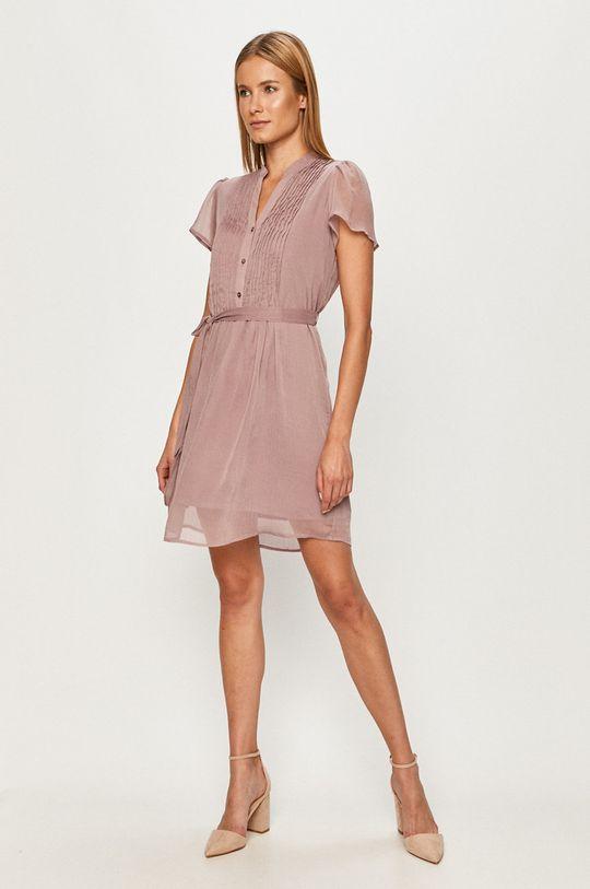 Vero Moda - Šaty ružovofialová