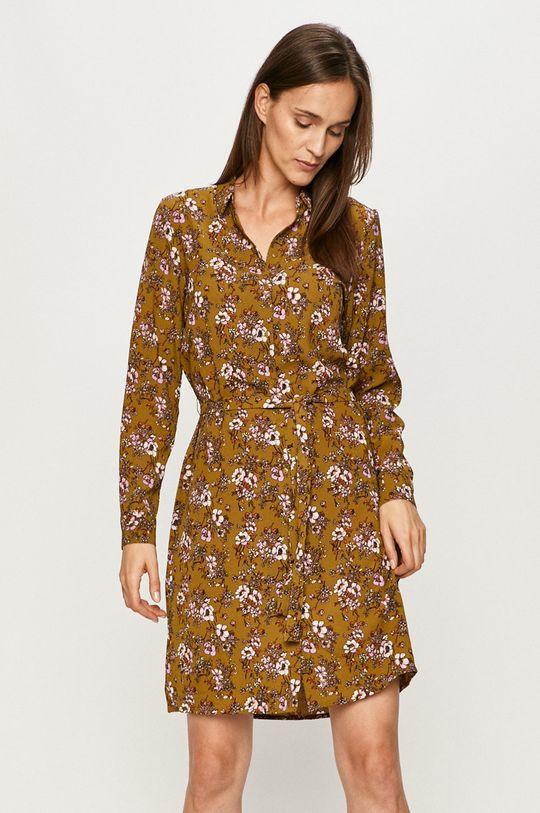 oliwkowy Vero Moda - Sukienka Damski