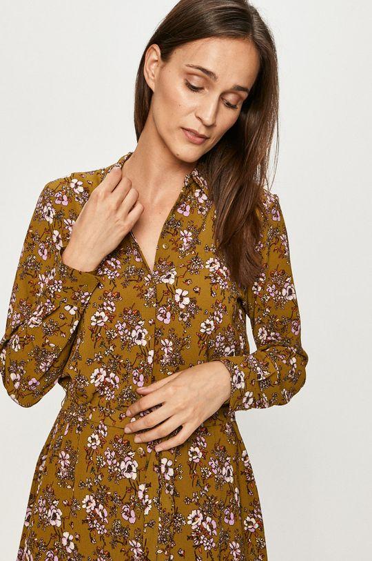 oliwkowy Vero Moda - Sukienka