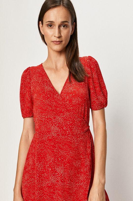 sýtočervená Vero Moda - Šaty