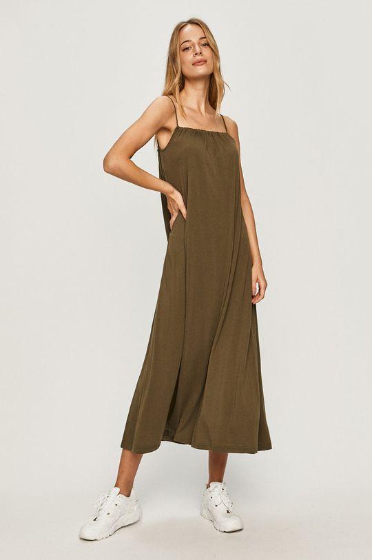 Vero Moda - Сукня оливковий