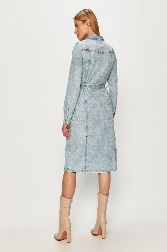 Vero Moda - Rifľové šaty  100% Bavlna