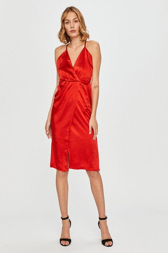 Vila - Sukienka ostry czerwony