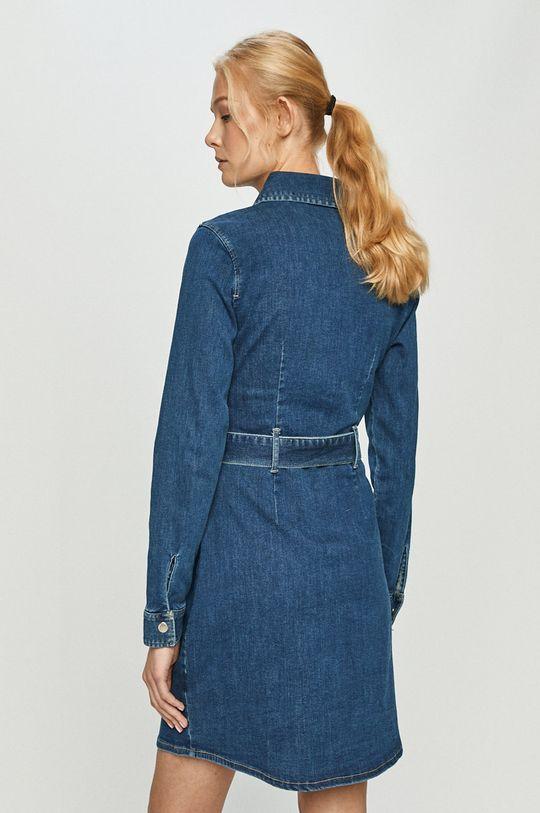 Tally Weijl - Rifľové šaty  60% Bavlna, 3% Elastan, 34% Polyester, 3% Viskóza
