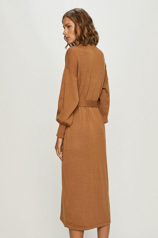 Vero Moda - Sukienka 20 % Akryl, 20 % Poliamid, 54 % Poliester, 6 % Wełna