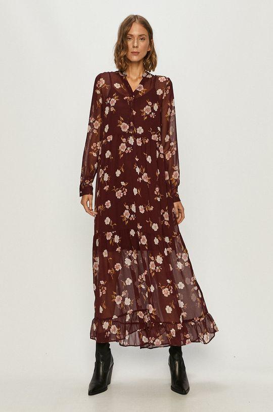 ciemny fioletowy Vero Moda - Sukienka Damski