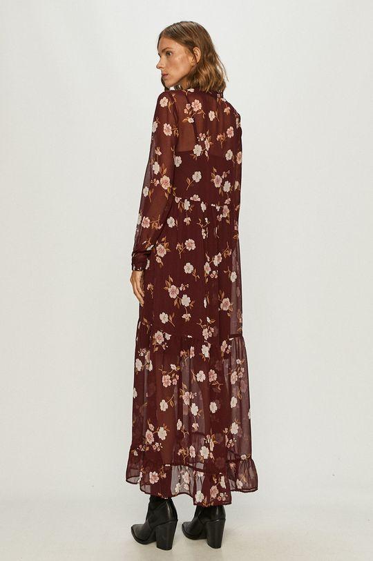 Vero Moda - Sukienka ciemny fioletowy