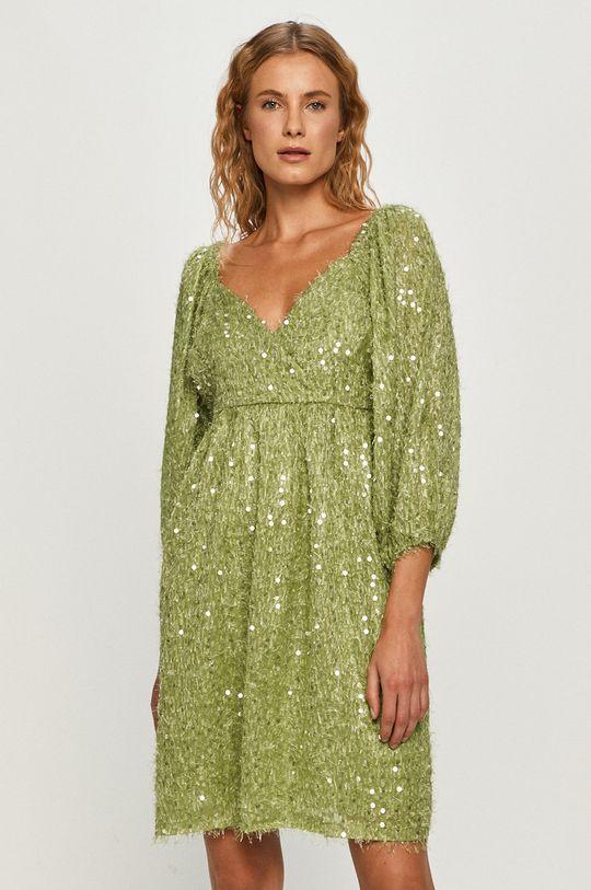 Vero Moda - Sukienka jasny zielony