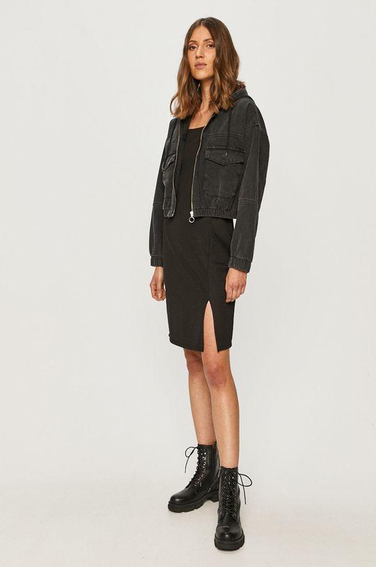 Vero Moda - Sukienka czarny