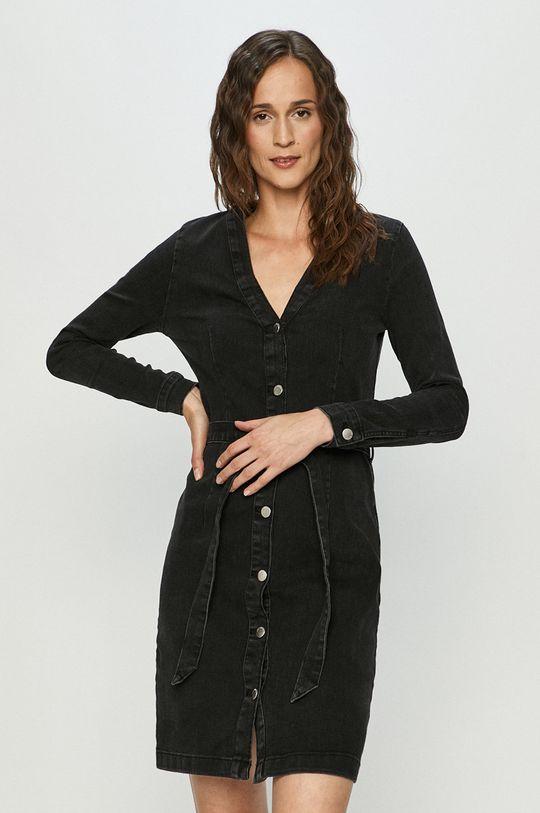 černá Jacqueline de Yong - Džínové šaty Dámský