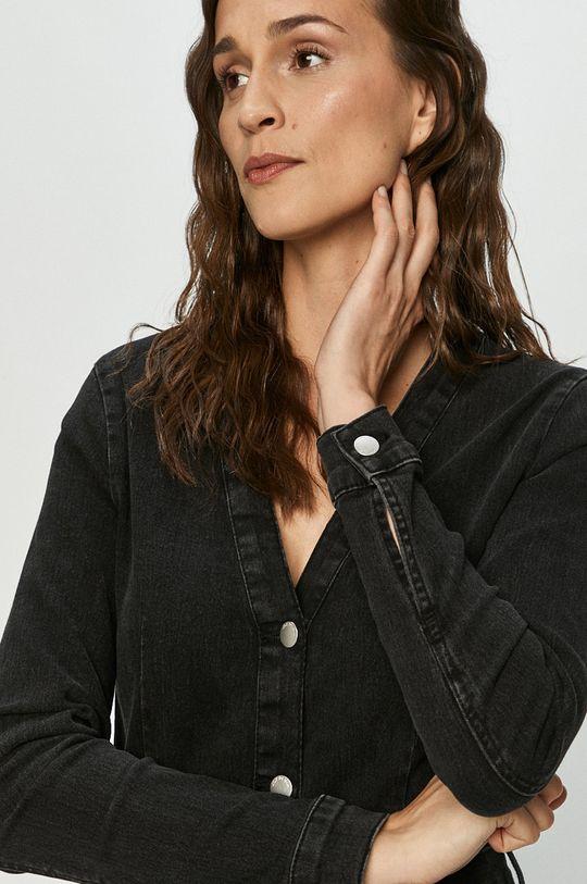 černá Jacqueline de Yong - Džínové šaty