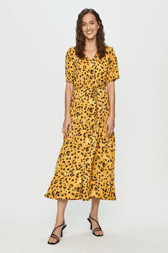 ciepły oliwkowy Jacqueline de Yong - Sukienka Damski
