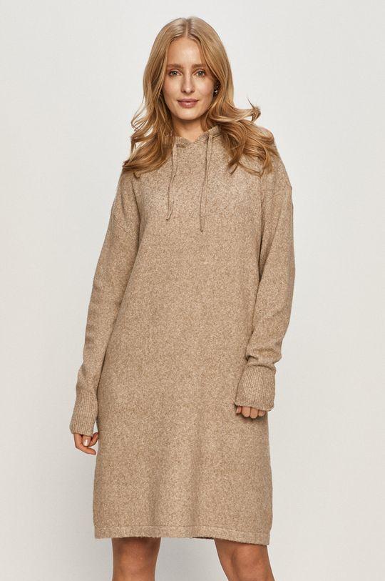béžová Vero Moda - Šaty Dámský