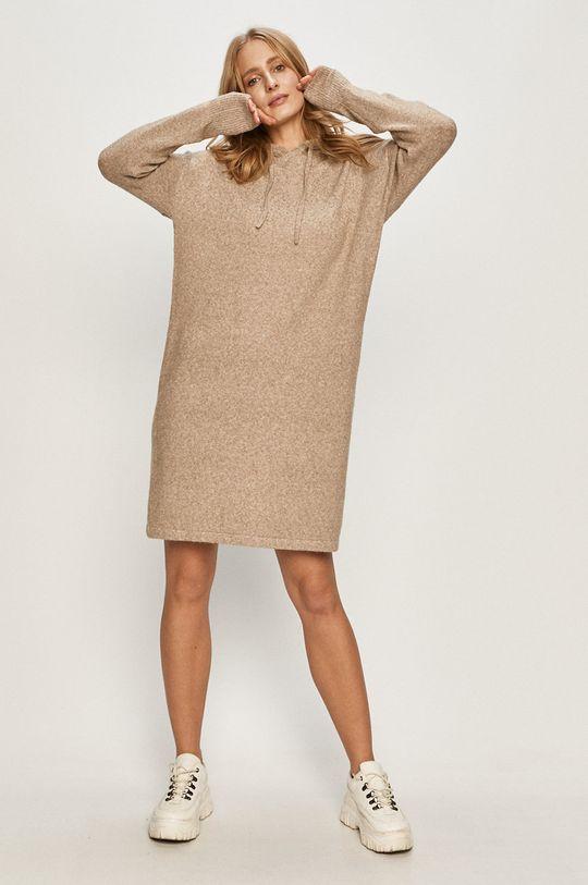 Vero Moda - Šaty béžová