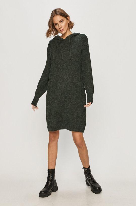 Vero Moda - Sukienka stalowy zielony