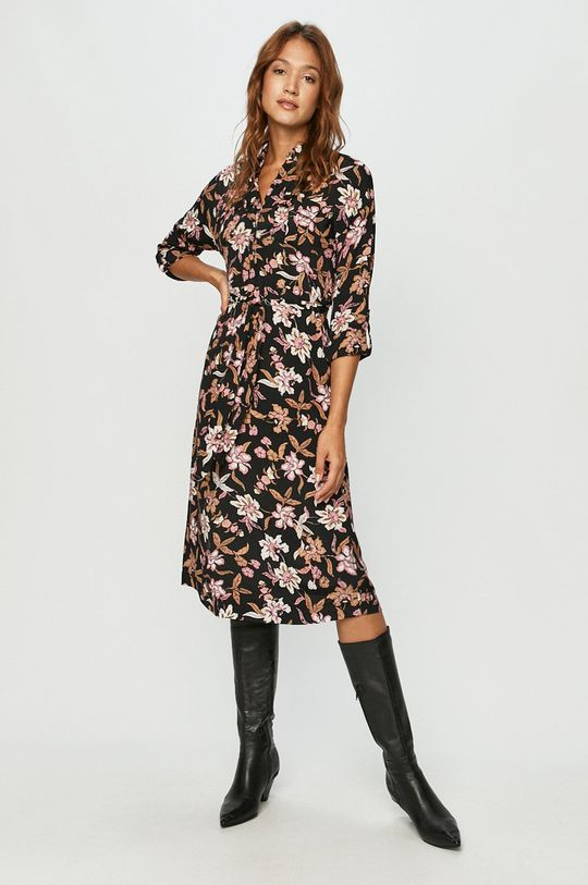 Vero Moda - Sukienka brudny róż
