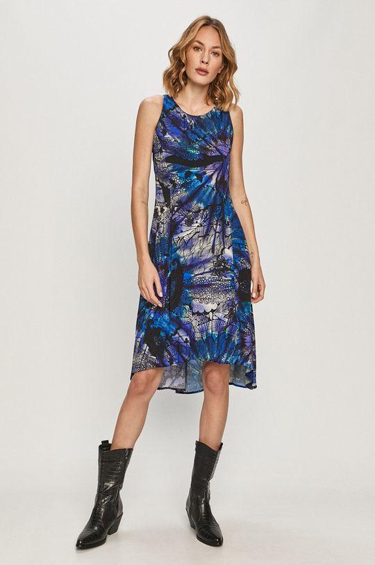 niebieski Desigual - Sukienka Damski