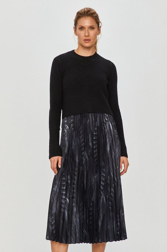 čierna AllSaints - Šaty a sveter Dámsky
