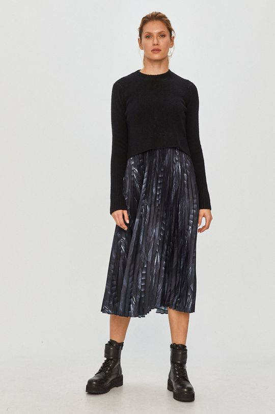 čierna AllSaints - Šaty a sveter