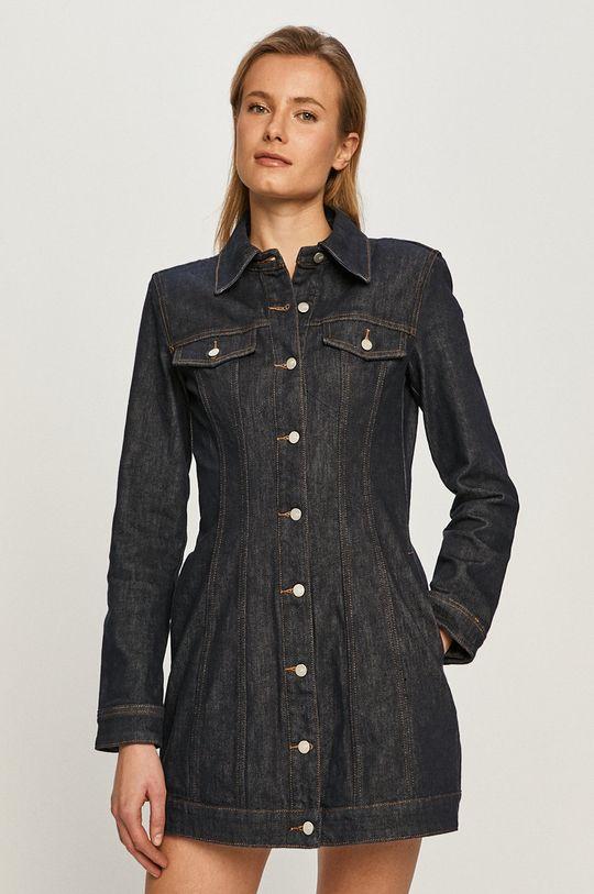 granatowy Miss Sixty - Sukienka jeansowa
