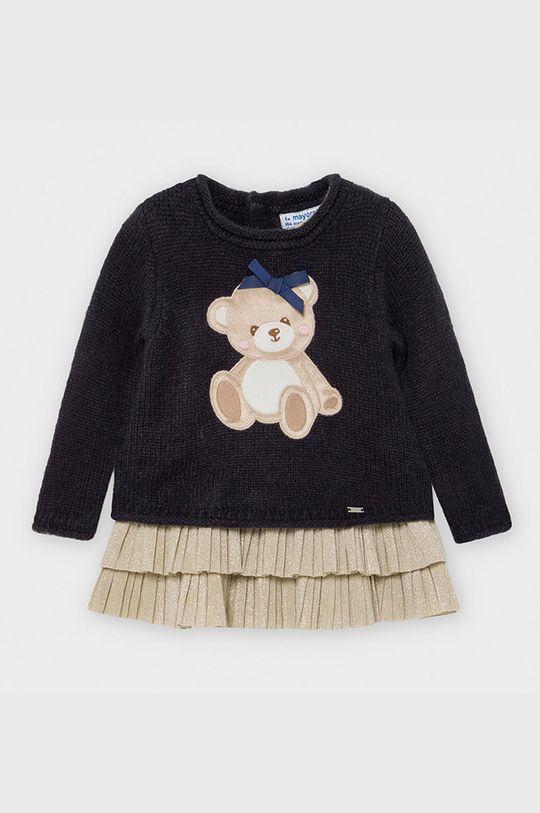 granatowy Mayoral - Sukienka i sweter dziecięcy 74-98 cm Dziewczęcy