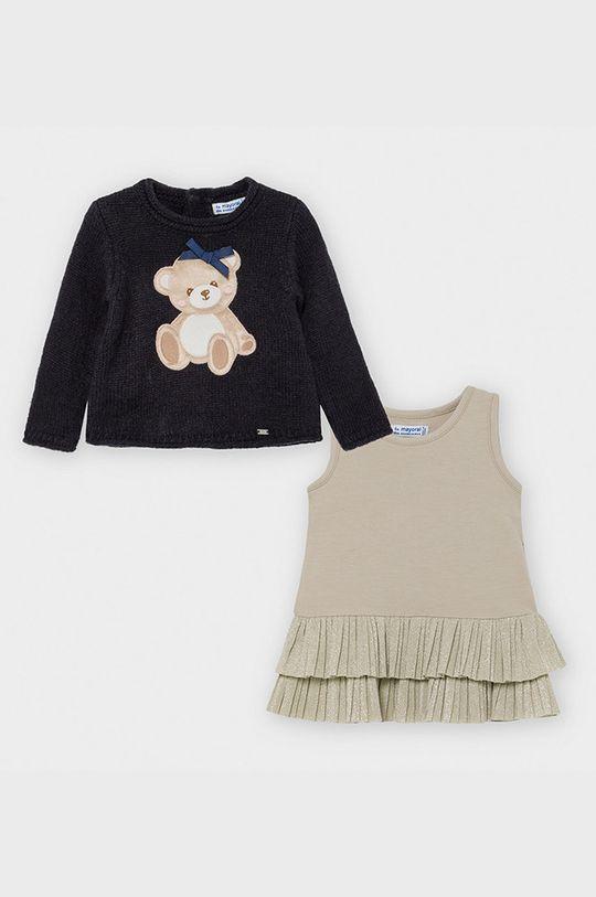 Mayoral - Sukienka i sweter dziecięcy 74-98 cm granatowy