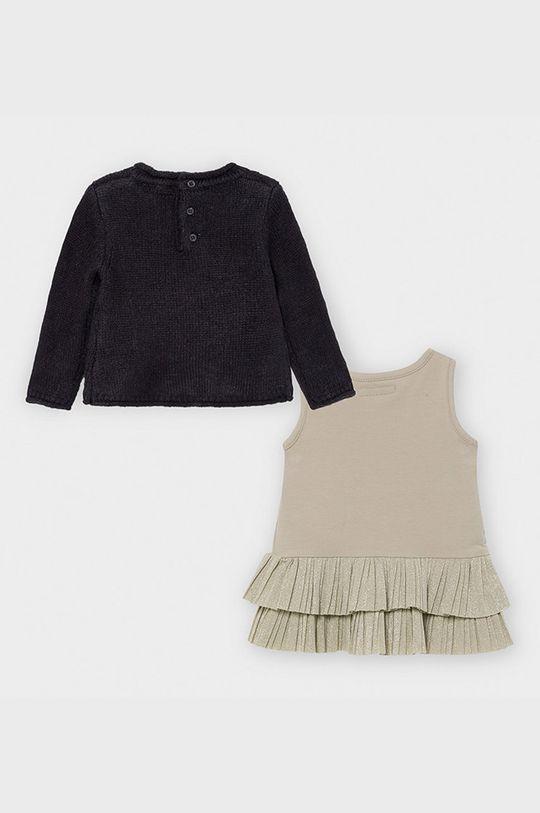 Mayoral - Sukienka i sweter dziecięcy 74-98 cm Materiał 1: 60 % Akryl, 35 % Poliamid, 5 % Wełna, Materiał 2: 57 % Bawełna, 3 % Elastan, 40 % Poliester
