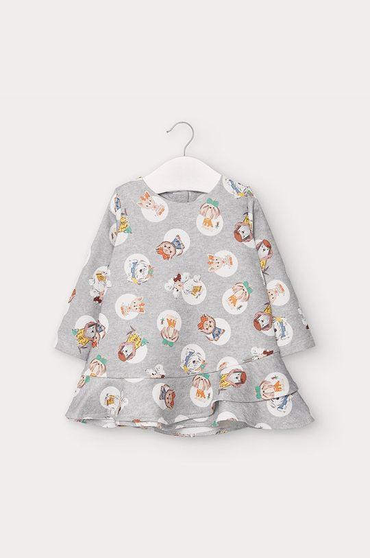srebrny Mayoral - Sukienka dziecięca 68-98 cm Dziewczęcy