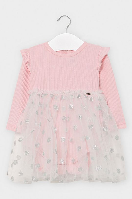 ružová Mayoral - Dievčenské šaty 68-98 cm Dievčenský