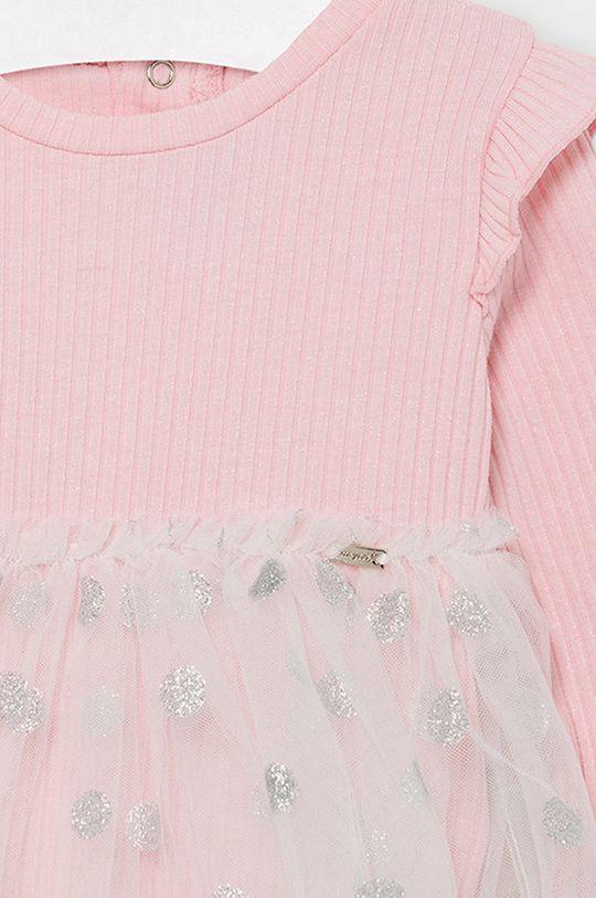 Mayoral - Dievčenské šaty 68-98 cm  42% Bavlna, 3% Elastan, 55% Polyester