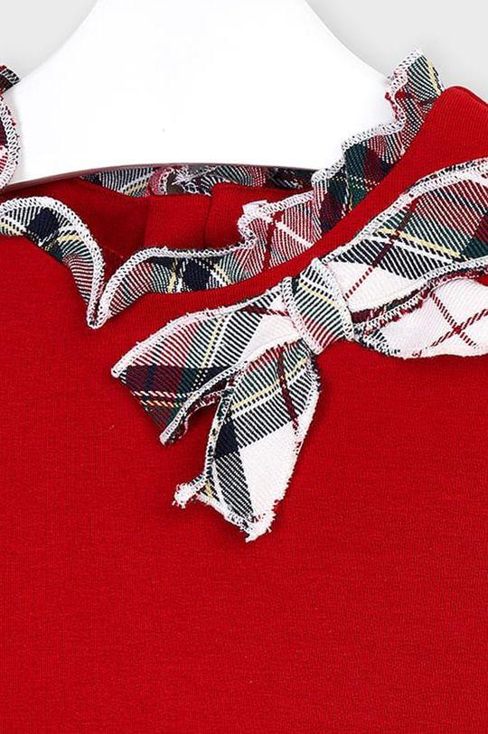 Mayoral - Dievčenské šaty 92-134 cm  47% Bavlna, 4% Elastan, 32% Polyester, 17% Viskóza