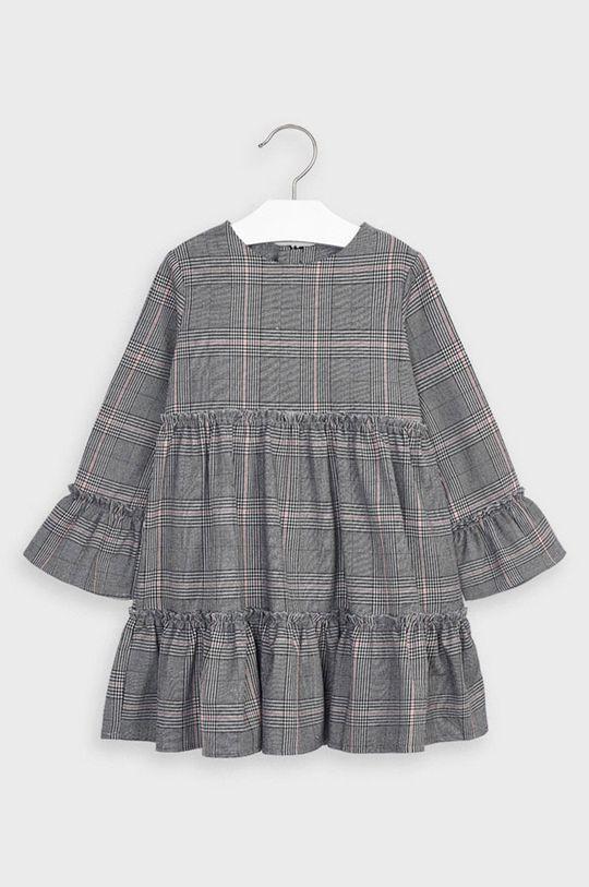 Mayoral - Dievčenské šaty 98-134 cm sivá