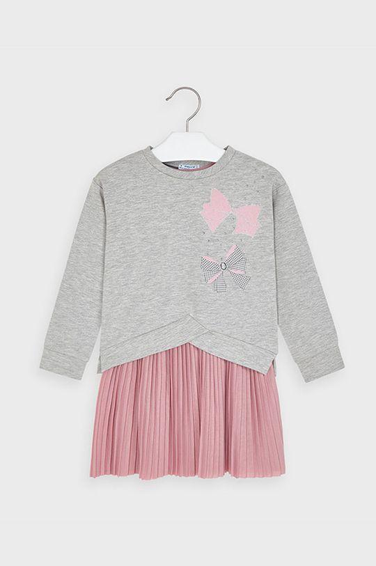 ružová Mayoral - Dievčenské šaty 92-134 cm Dievčenský