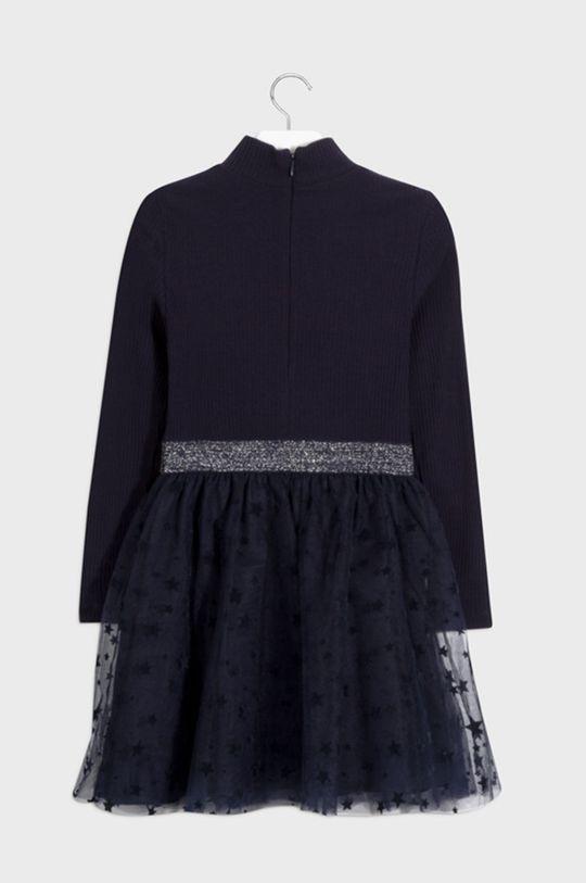 Mayoral - Dievčenské šaty 128-157 cm tmavomodrá