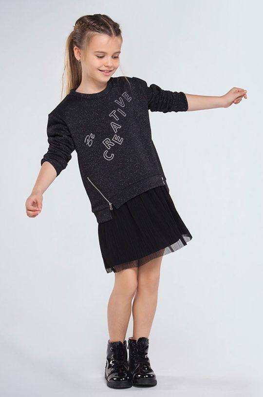czarny Mayoral - Sukienka i bluza dziecięca 128-157 cm Dziewczęcy