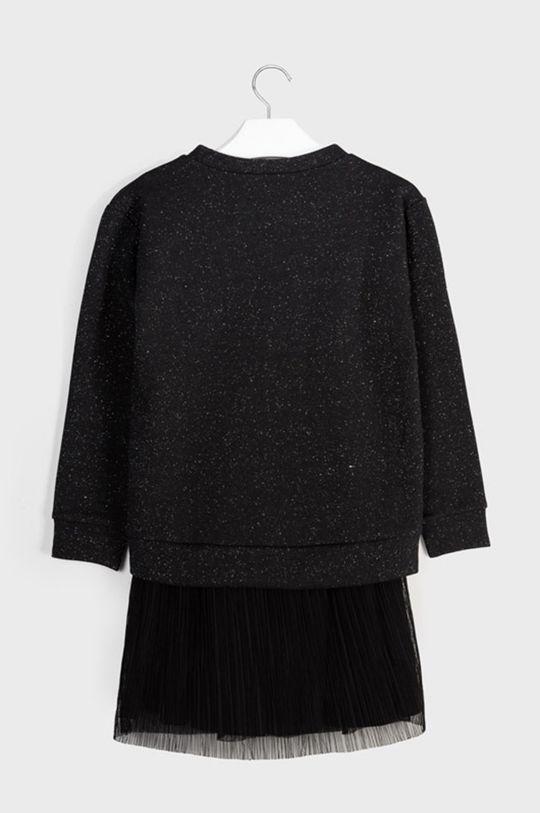 Mayoral - Sukienka i bluza dziecięca 128-157 cm czarny