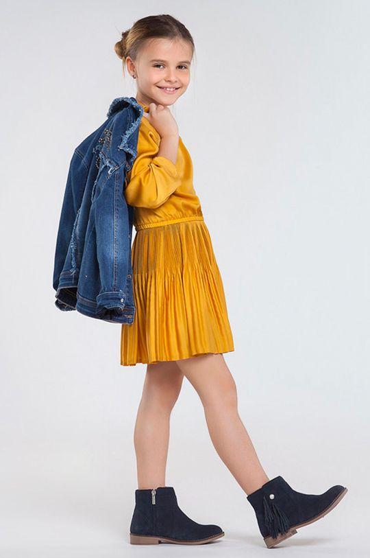 jantarová Mayoral - Dívčí šaty 128-167 cm Dívčí