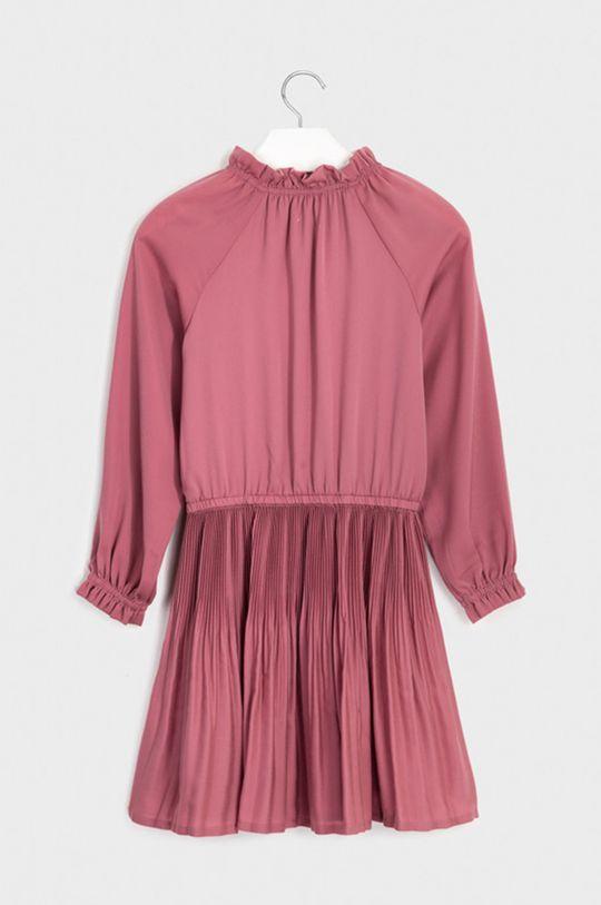 Mayoral - Dievčenské šaty 128-167 cm staroružová