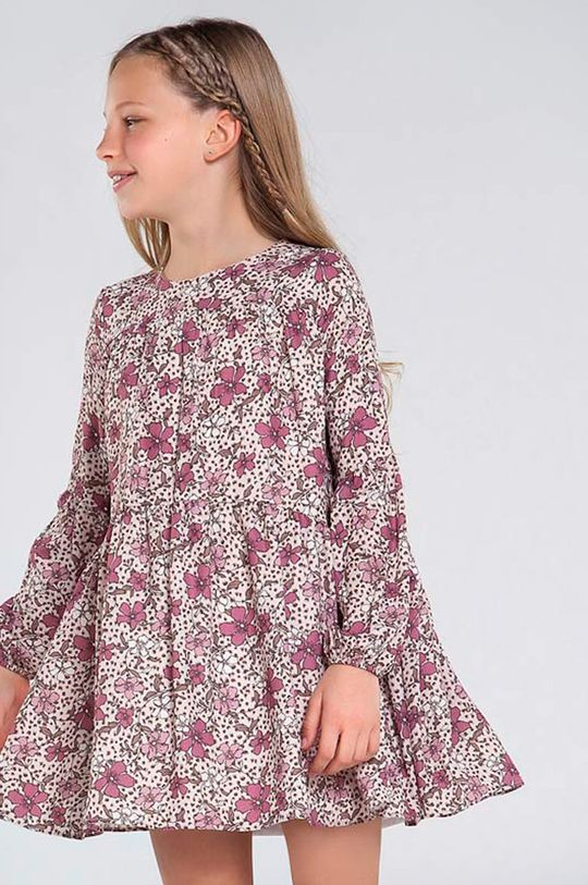 ružová Mayoral - Dievčenské šaty 128-167 cm Dievčenský
