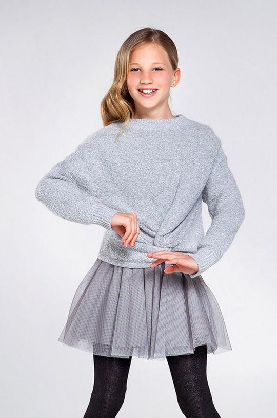 sivá Mayoral - Dievčenské šaty 128-167 cm Dievčenský