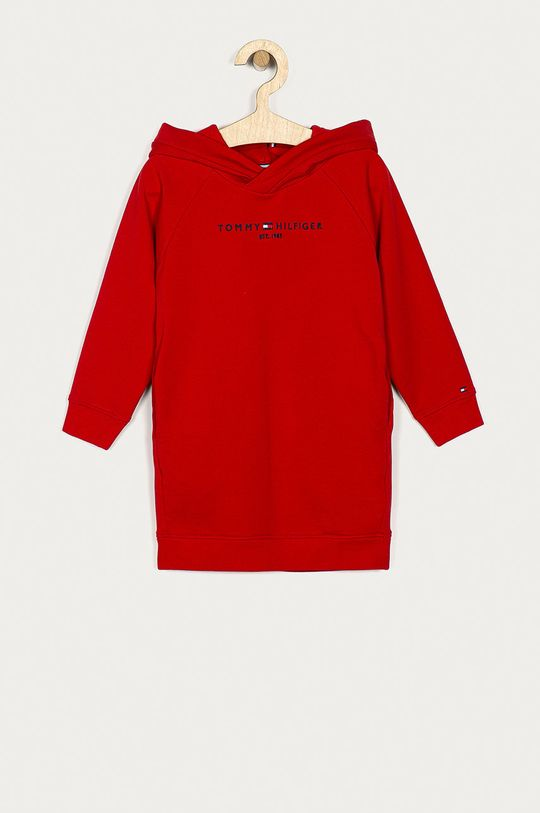 červená Tommy Hilfiger - Dívčí šaty 116-176 cm Dívčí